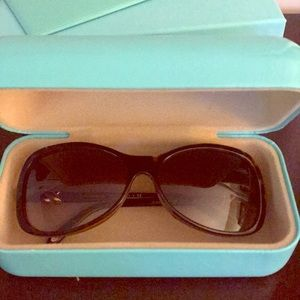 Tiffany Brown tortoise sunglasses